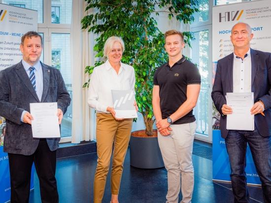 HTW Dresden fördert Spitzensport